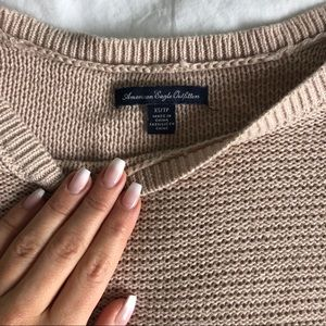 Baggy neutral sweater